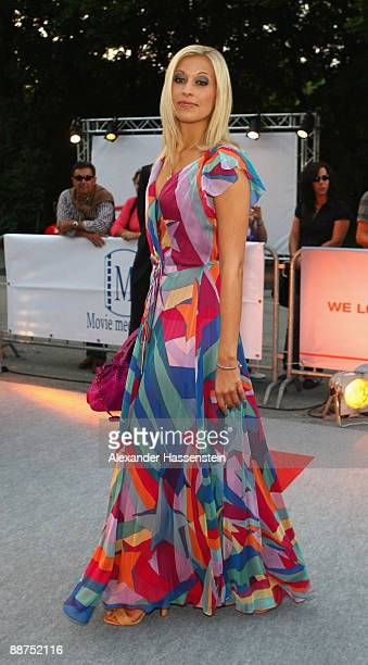 Verena Kerth attends the Movie Meets Media party at discoteque P1 on June 29, 2009 in Munich, Germany.