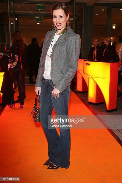Verena Kerth during the SIXT fashion dinner at Nockherberg on March 24 2015 in Munich Germany