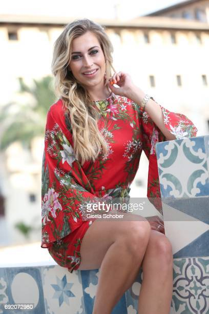 Verena Kerth during the Zhero hotel and 'Bahia Mediterraneo' restaurant opening on June 3 2017 in Palma de Mallorca Spain