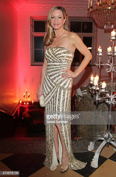 Verena Klein attends the Dresswestern party at Rilano No 6 on February 22 2014 in Munich Germany