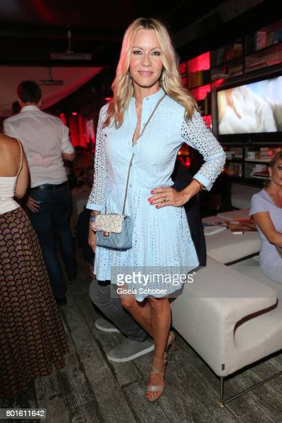 MUNICH GERMANY JUNE 26 Verena Klein during the Movie meets Media Party during the Munich Film Festival on June 26 2017 in Munich Germany