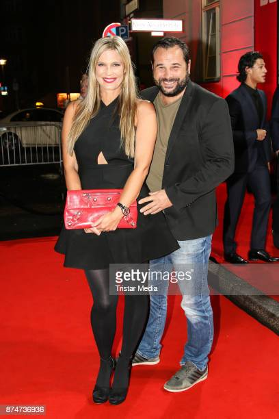 Verena Wriedt and her husband Thomas Schubert arrive at the New Faces Award Style 2017 on November 15 2017 in Berlin Germany
