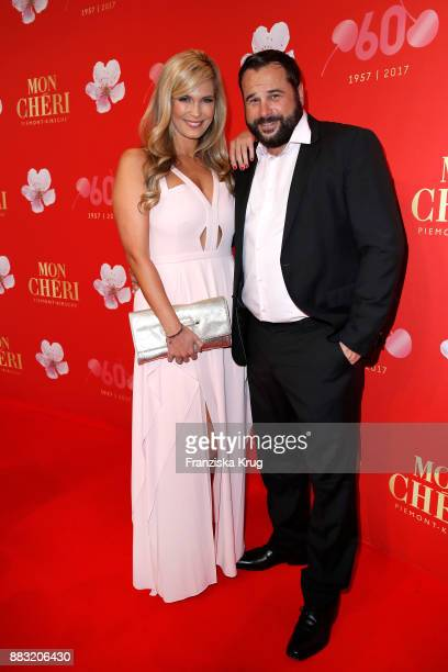 Verena Wriedt and her husband Thomas Schubert attend the Mon Cheri Barbara Tag 2017 at Postpalast on November 30 2017 in Munich Germany