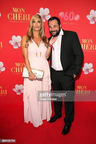 Verena Wriedt and her husband Thomas Schubert during the Mon Cheri Barbara Tag at Postpalast on November 30 2017 in Munich Germany