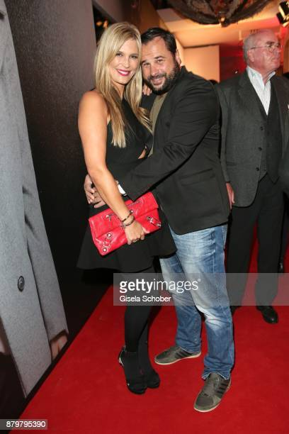 Verena Wriedt and her husband Thomas Schubert during the New Faces Award Style 2017 at 'The Grand' hotel on November 15 2017 in Berlin Germany