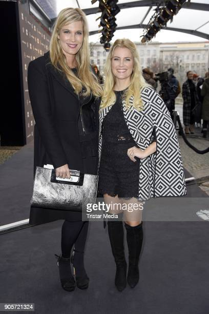 Verena Wriedt and Jennifer Knaeble attend the Ewa Herzog show during the MBFW Berlin January 2018 at ewerk on January 16 2018 in Berlin Germany