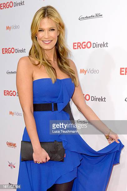 Verena Wriedt attends the 5th '99FireFilmsAward' Red Carpet Arrivals at Admiralspalast on February 14 2013 in Berlin Germany