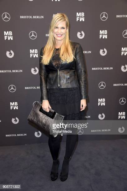 Verena Wriedt attends the Ewa Herzog show during the MBFW Berlin January 2018 at ewerk on January 16 2018 in Berlin Germany
