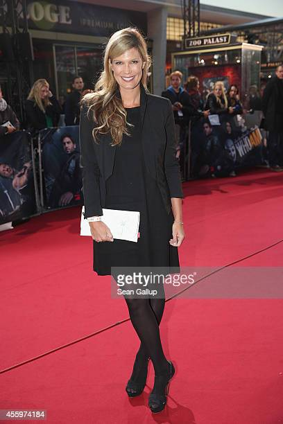 Verena Wriedt attends the premiere of the film 'Who am I' at Zoo Palast on September 23 2014 in Berlin Germany