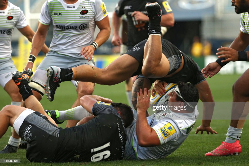 Newcastle Falcons v Saracens - Aviva Premiership