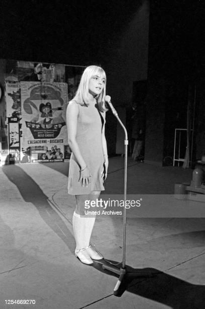 Vergißmeinnicht, Fernsehshow, Deutschland 1966, Gaststar: France Gall.