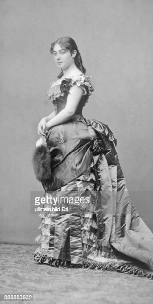 verheiratet Natalija Obrenovi Fürstin und Königin von Serbien Frau von König Milan I Josef Löwy Originalaufnahme im Archiv von ullstein bild