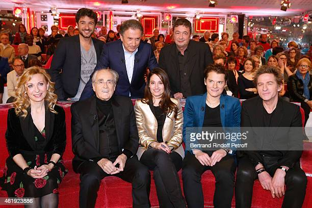 Verino Michel Drucker Fred Bouraly Natalie Dessay Michel Legrand Marie Gillain Main Guest of the show Singer Benabar and HubertFelix Thiefaine attend...