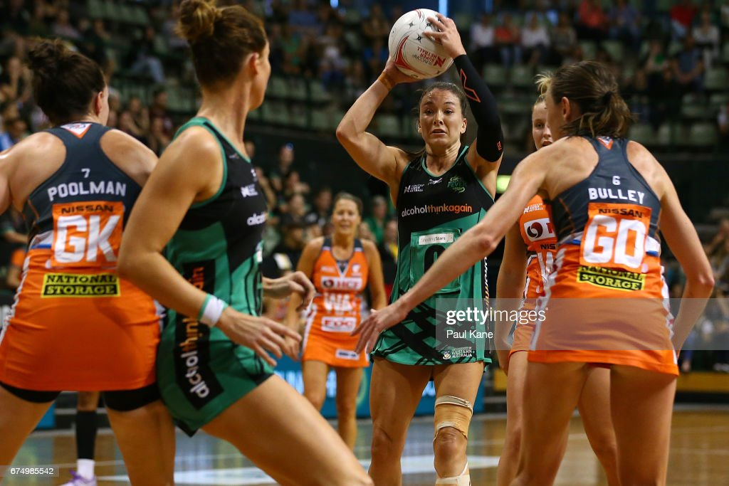 Super Netball Rd 10 - Fever v Giants : News Photo