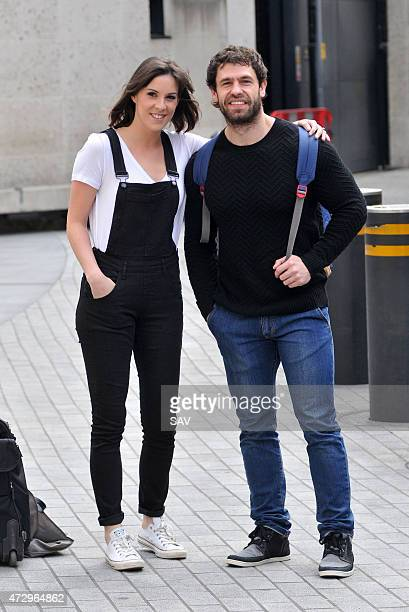 Verity Rushworth and Kelvin Fletcher sighted at the BBC on May 11 2015 in London England
