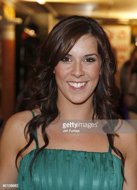 Verity Rushworth attends the TV Quick and TV Choice Awards at the Dorchester Hotel on September 03 2007 in London