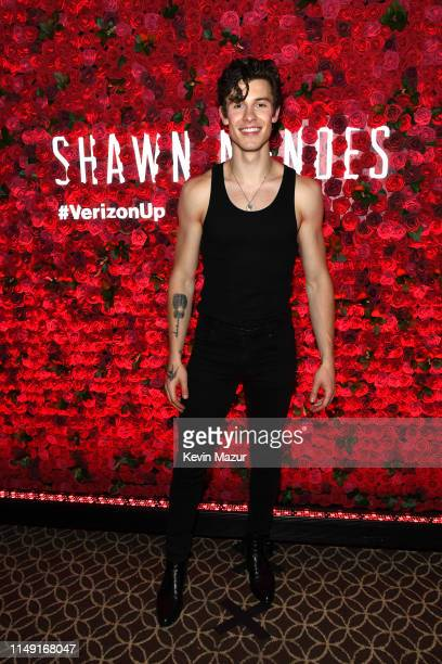 Verizon Up Presents Shawn Mendes Live at Hammerstein Ballroom on May 14 2019 in New York City