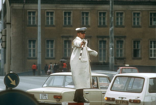 Verkehrspolizei DDR Pictures | Getty Images