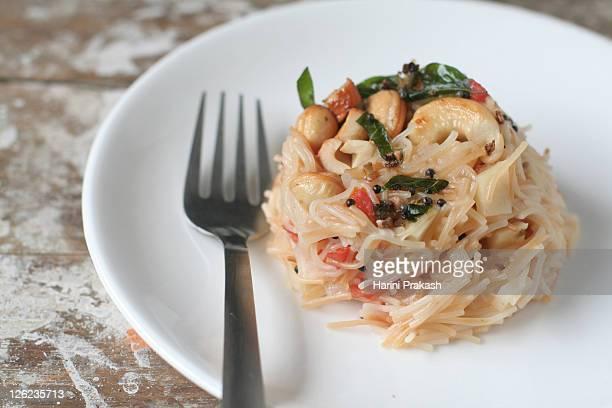 Vermicelli pasta or Semiya upma