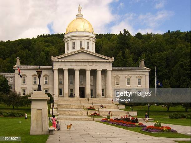 Vermont capitol building in Montpelier.