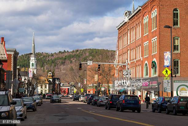 usa, vermont, montpelier - small town america stock pictures, royalty-free photos & images