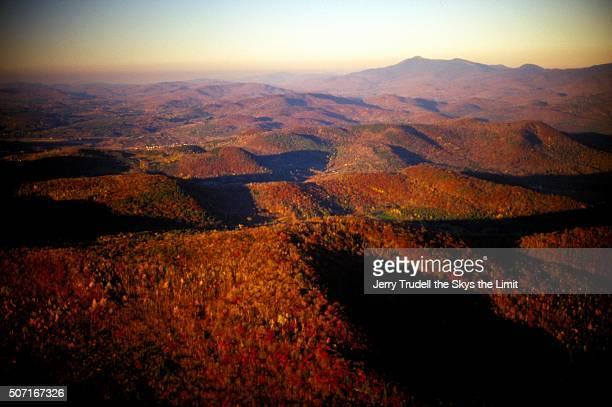 Vermont Peak  Fall Foliage