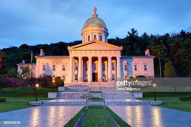 vermont state house - vermont stock pictures, royalty-free photos & images