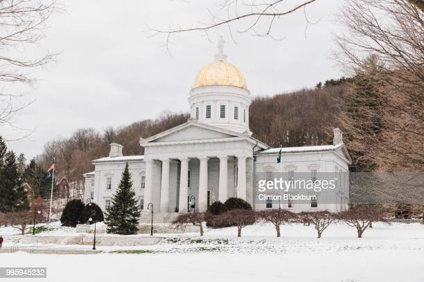 vermont state house #4 - montpelier vermont stockfoto's en -beelden