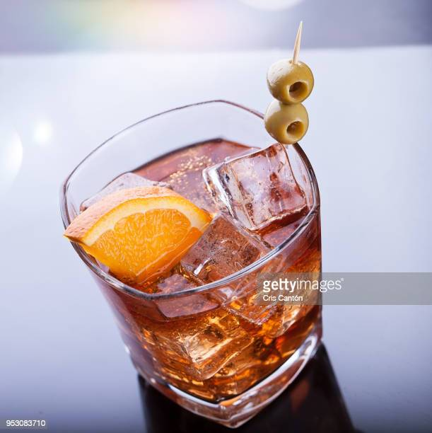 Vermouth and soda