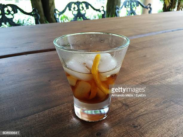 Vermouth On Table
