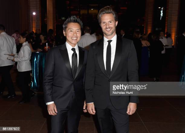Vern Yip and Craig Koch attend 13th Annual UNICEF Snowflake Ball 2017 at 60 Wall Street Atrium on November 28 2017 in New York City