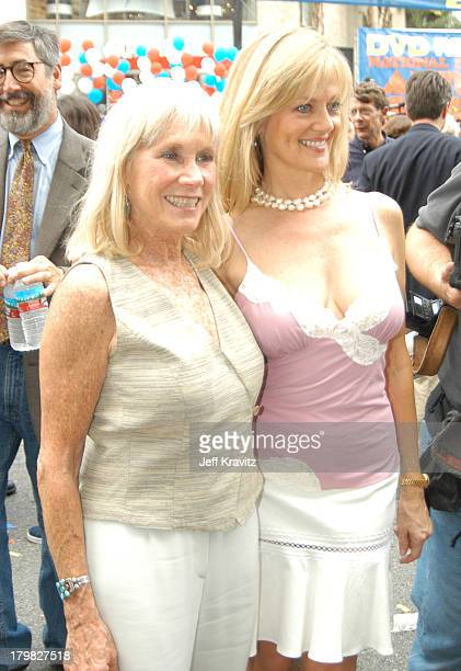 Verna Bloom and Martha Smith during Animal House 25th Anniversary Ultimate Homecoming Parade DVD Release Extravaganza at Hollywood Boulevard in...