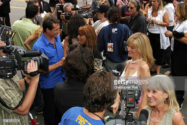 Verna Bloom Martha Smith and Karen Allen during Animal House 25th Anniversary Ultimate Homecoming Parade DVD Release Extravaganza at Hollywood...