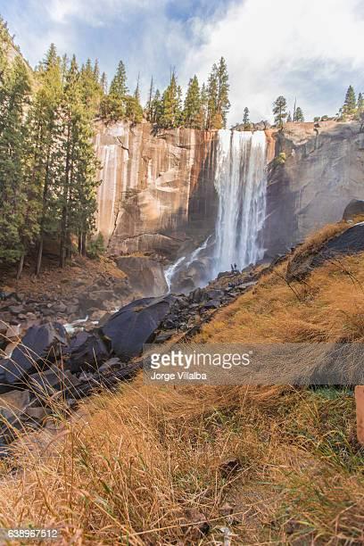 Vernal falls in Yosemite California