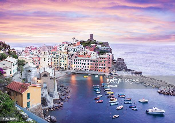 Vernazza At Dawn