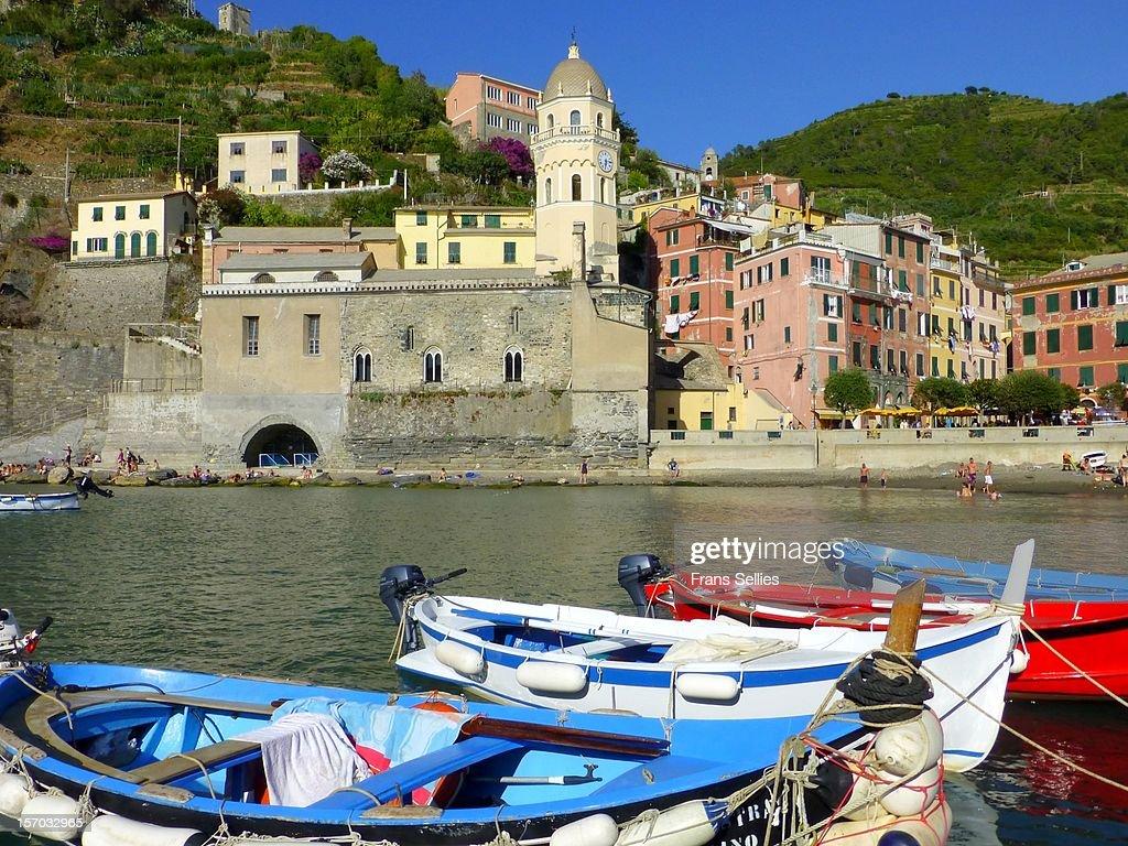 Vernazza, Cinque Terre, Italy : Stockfoto