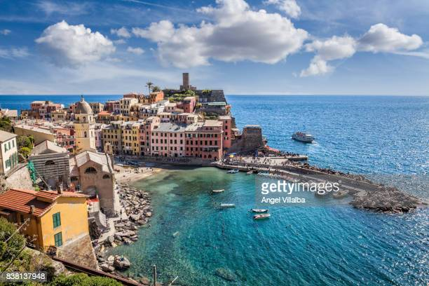 vernazza - cinque terre stock pictures, royalty-free photos & images