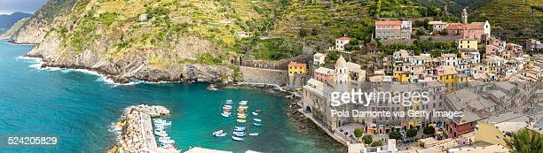 Vernazza the jewel of Cinque Terre, Italy