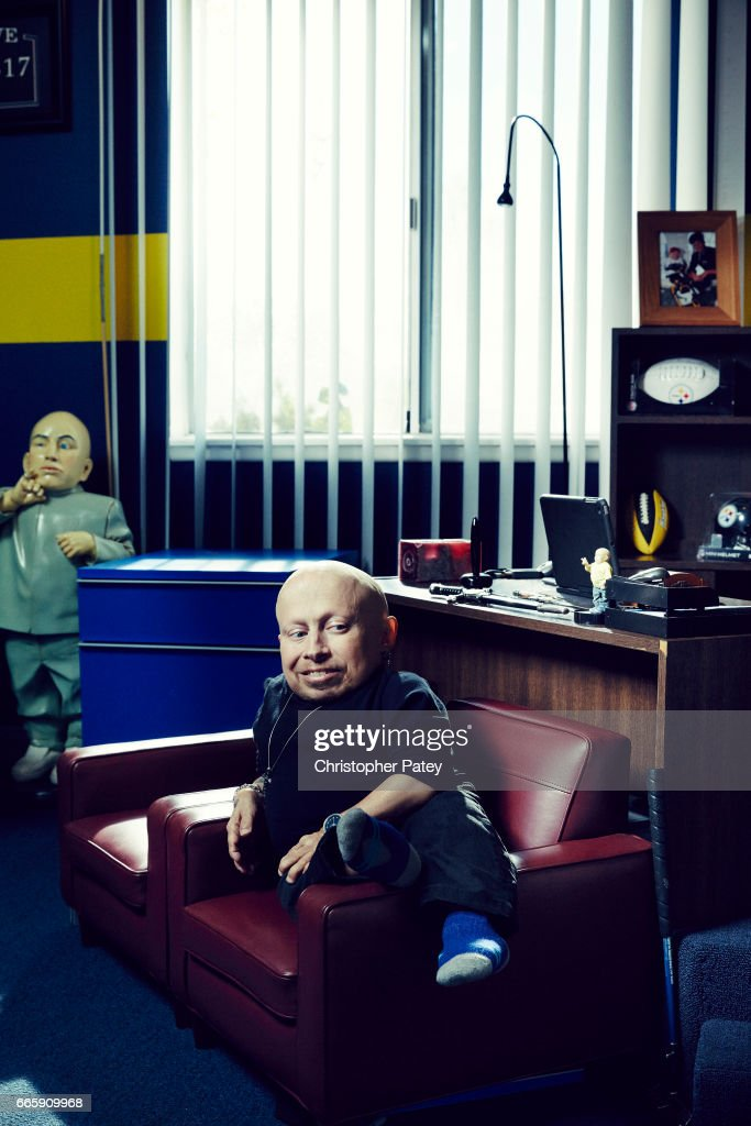 Verne Troyer is photographed for The Hollywood Reporter on July 21, 2016 in Panorama City, California. Published Image.