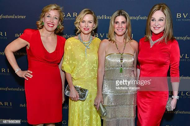 Vernoica Bulgari with Naomi Watts Greggory Burk and Becca Cason Thrash all wearing Bulgari at Bulgari Celebrating 130 Years of Masterpieces Dinner...