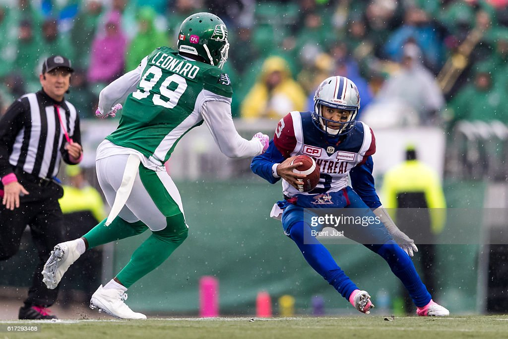 Montreal Alouettes v Saskatchewan Roughriders : News Photo