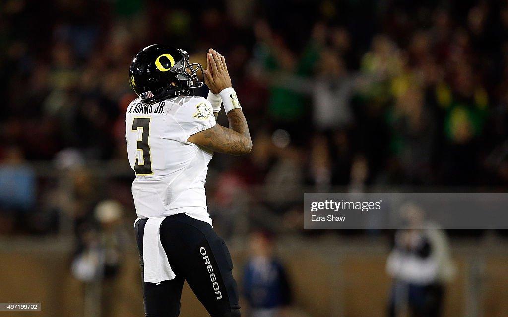 Oregon v Stanford