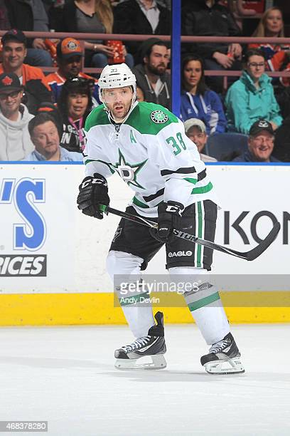Vernon Fiddler of the Dallas Stars skates on the ice during the game against the Edmonton Oilers on March 27 2015 at Rexall Place in Edmonton Alberta...