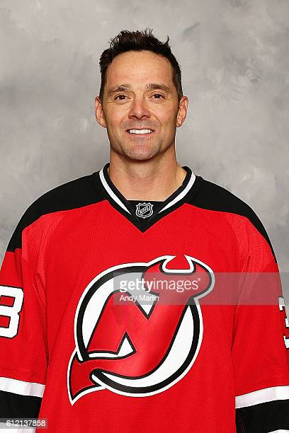 Vernon Fiddler of the New Jersey Devils poses for his official headshot for the 20162017 season at Prudential Center on September 22 2016 in Newark...