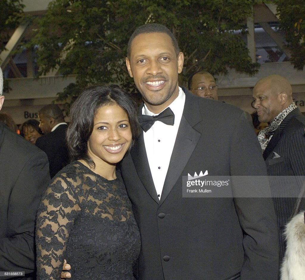 Vernon Jones and wife during 2006 Trumpet Awards - Arrivals at... News  Photo - Getty Images