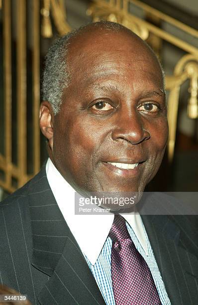 Vernon Jordan attends the 2004 Matrix Awards Luncheon at The Waldorf Astoria April 19 2004 in New York City