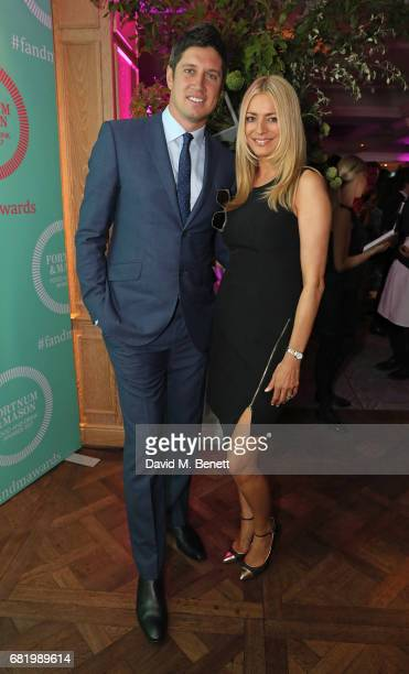 Vernon Kay and Tess Daly at the fifth annual Fortnum Mason Food and Drink Awards on May 11 2017 in London England