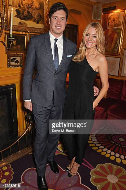 Vernon Kay and Tess Daly attend 'Goldie's LoveIn For The Kids' the 4th annual Hawn Foundation UK fundraising dinner hosted by Goldie Hawn and Kate...