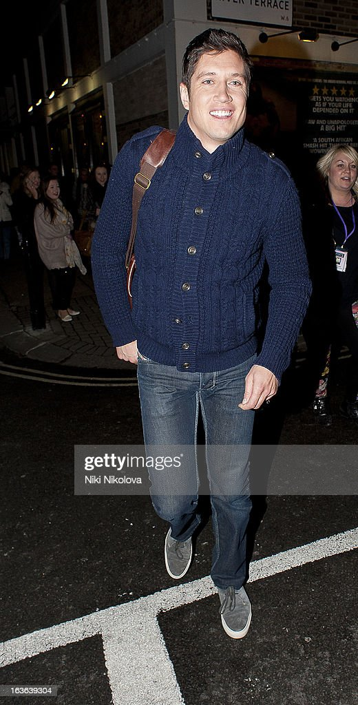 Vernon Kay sighting on March 13, 2013 in London, England.