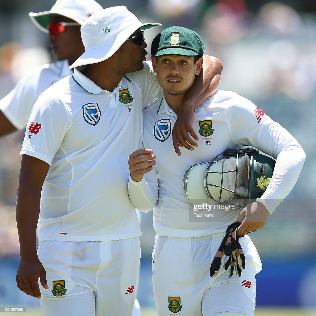 1st Test - Australia v South Africa: Day 5